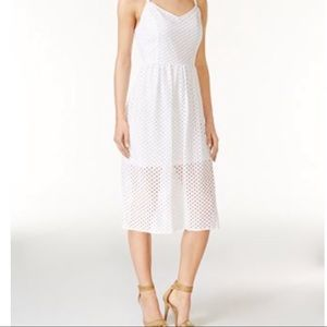 Kensie lace mesh dress, size small